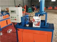 现货 铁管缩口机 液压大棚管缩口机 花架大棚缩管设备