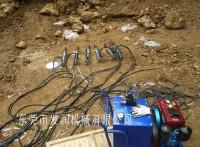 西双版纳静态液压劈石机静态岩石破碎设备