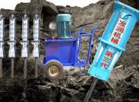 广西梧州液压静态劈石机现货价格