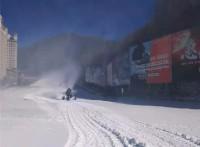 多台滑雪场人工造雪机已发货 小型造雪机厂家定制