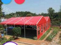 定做篷房戶外婚慶婚禮酒席紅白喜棚大型倉儲展會活動體育帳篷棚房
