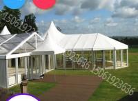 廠家供貨大型異形帳篷 戶外混合尖頂篷 簡易搭建歐式婚禮棚房