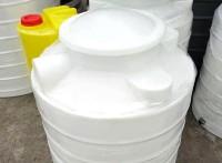 腾洁生产厂家PE水箱300L内外光滑滚塑一体成型耐酸耐碱