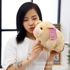 乖小猪公仔可爱毛绒玩具猪年吉祥物活动年会礼品定制礼物一件代发