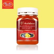 澳碧Auhibee澳洲夏威夷果蜂蜜澳大利亚进口罐装蜂蜜2020年8月到期