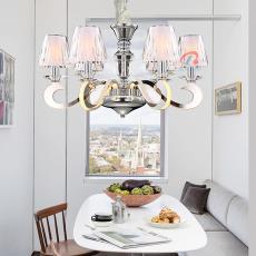 发光吊灯 后现代轻奢吊灯 简欧LED餐厅卧室简约现代创意客厅灯饰