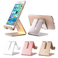 手机充电底座 锌合金手机平板桌面支架 iPad金属支架 懒人支架