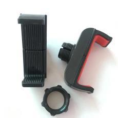 厂家直销通用车载出风口导航单车摩托车直播手机支架夹配套配件