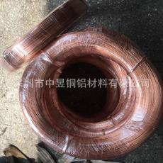 一手货源 T2全软紫铜线 电工铜扁线方线 轴装精密紫铜线