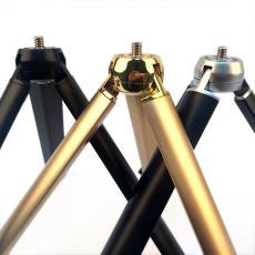 中山市自拍杆工厂批发手机直播支架定做高档铝合金自拍杆小三脚架
