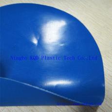 工业防护围裙前褂面料 蓝色耐酸碱防油丁腈NBR橡胶围裙面料