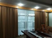 北京遮光窗帘定做铝合金百叶帘定做喷绘卷帘隔热窗帘单位防晒窗帘