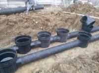 塑料檢查井 成品雨水沉泥流槽污水井