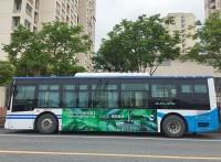 上海户外广告投放首选:公交车身广告投放