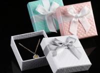 定制,高档首饰盒,戒指盒,耳环盒,项链盒,特种纸烫金LOGO