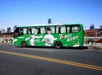 上海外滩广告,观光巴士广告
