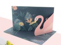 工厂定制贺卡卡片纸盒印刷LOGO工厂低价