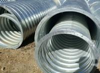 闪电发货云南波纹涵管 直径六米钢波纹管