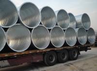 圆形波纹涵管规格全 钢波纹管涵现货供应
