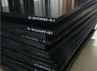 黑色PA66+GF30尼龙板化工机械防腐尼龙板配件加工
