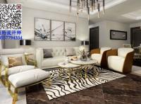 北海 鸿潮·宝来华府 3室2厅 轻奢风格 装修设计