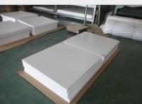 PTFE板白色铁氟龙板抗腐蚀性强聚四氟乙烯板