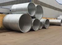 公路涵洞排水管 直径1米壁厚3mm现货供应钢波纹管