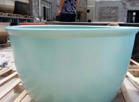 景德镇陶瓷泡澡缸日式温泉圆形风吕缸直径1.1米1.2米浴缸