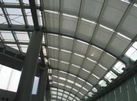 珩杰商场中庭采光玻璃顶部电动遮阳天棚帘
