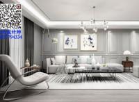 北海 彰泰·春江海岸 3室2厅 现代风格 装修设计