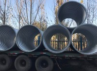 钢制波纹涵管桥梁专用钢波纹涵管 直径4米钢波纹管涵