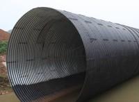 直径2米拼装波纹涵管钢制波纹涵管