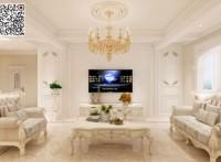 北海 雅居乐金海湾 3室2厅 欧式风格 装修方案