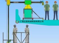桥梁排水管安装设备_桥梁施工车定制