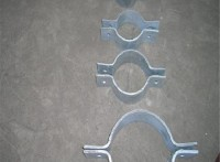 盐山捌方管道厂家供应D3双孔短管夹