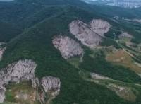 汤山假山瀑布山体改造工程?