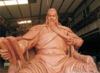 肇庆将军山关公像雕塑景观?