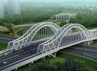 河北鲁工钢结构管桁架加工