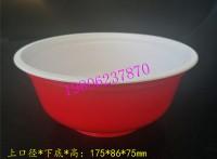 厂家直供一次性塑料扣肉碗 预制菜包装碗 封口塑料碗