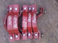 厂家直销A5-1基准型双螺栓管夹标准型双螺栓管夹大量现货