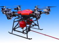 干粉喷射型消防无人机