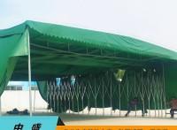 济南定制推拉雨棚活动帐篷户外伸缩大棚收缩蓬仓库棚移动遮阳棚