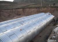 大连波纹涵管金属波纹涵管正品钢波纹涵管供应