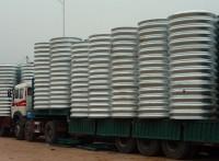 桥梁专用钢波纹涵管重量 钢波纹管涵承载高