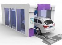 全国大型电脑智能隧道式高端洗车机LT-SD09G