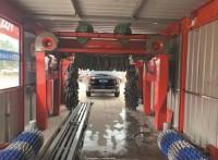 河北大型电脑智能隧道式十二刷全自动清洗设备LT-SD12X