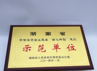 金箔牌匾定制模范單位標牌制作