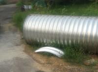 厂家供应波纹涵管金属波纹涵管,镀锌波纹涵管