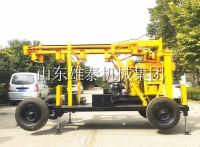 200米拖車式液壓巖心鉆機 輪式勘探水井鉆機