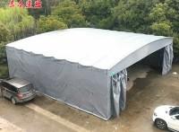 佛山丹灶伸缩雨棚布户外仓库雨篷活动雨蓬悬空棚电动篷制造厂家